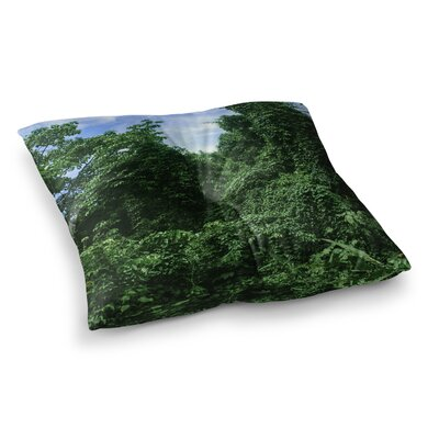 Nick Nareshni Forest in The Sky Photography Square Floor Pillow Size: 23 x 23