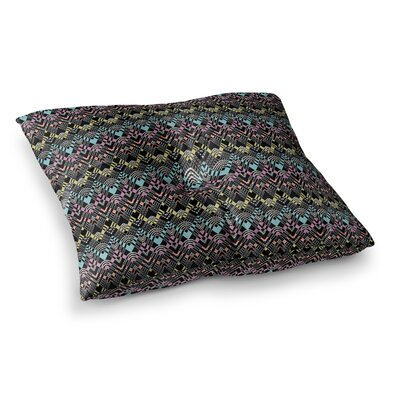 Victoria Krupp Tribal Zigzag Digital Square Floor Pillow Size: 23 x 23