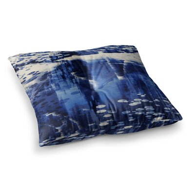 Nina May Extract Digital Square Floor Pillow Size: 26 x 26