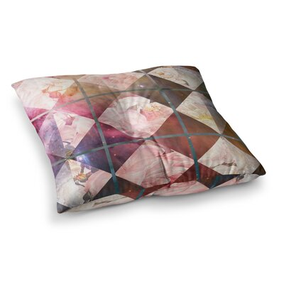 Suzanne Carter Floral Universe Square Floor Pillow Size: 26 x 26