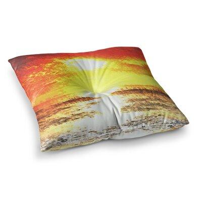 Oriana Cordero Riviera Square Floor Pillow Size: 26 x 26