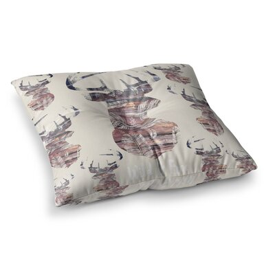 Suzanne Carter Wild and Free 2 Square Floor Pillow Size: 26 x 26