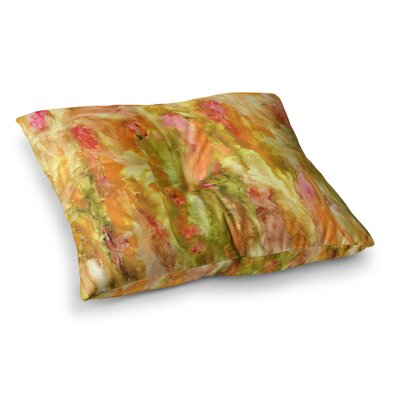 Rosie Brown Walk in the Forest Square Floor Pillow Size: 26 x 26