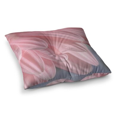 Suzanne Harford Airy Floral Square Floor Pillow Size: 23 x 23