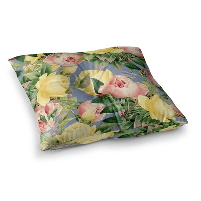 Noonday Design Merry Christmas Square Floor Pillow Size: 23 x 23
