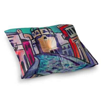 Theresa Giolzetti Procida Square Floor Pillow Size: 23 x 23