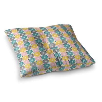 Nandita Singh Christmas Celebration Square Floor Pillow Size: 26 x 26