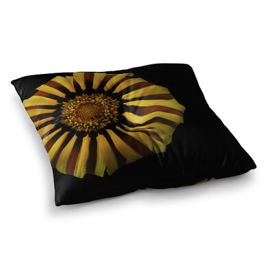 Nick Nareshni and Flower Floral Photography Square Floor Pillow Size: 23 x 23