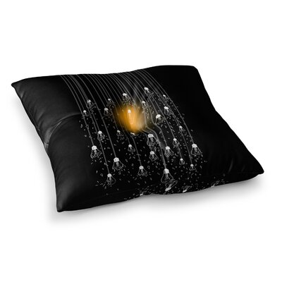 BarmalisiRTB One Light Digital Square Floor Pillow Size: 26 x 26
