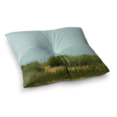 Robin Dickinson Hand in Hand Square Floor Pillow Size: 23 x 23