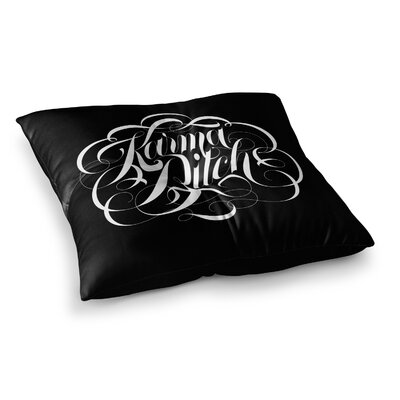 Roberlan Karma Beesh Square Floor Pillow Size: 23 x 23