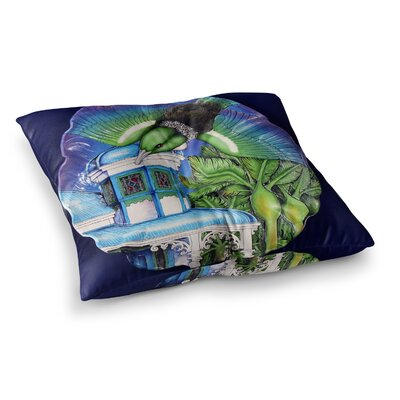 Vinny Thompson New Zealand Square Floor Pillow Size: 23 x 23