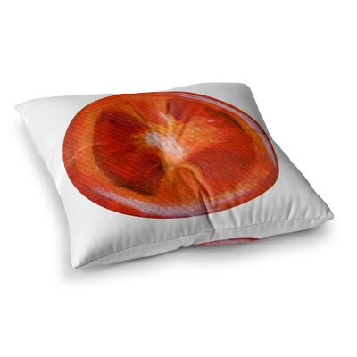 Theresa Giolzetti Tomatoes Square Floor Pillow Size: 23 x 23