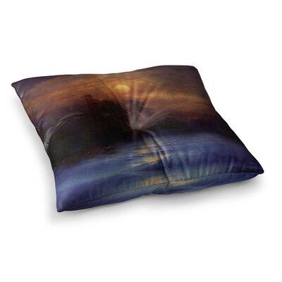 Viviana Gonzalez Hope in the Water Square Floor Pillow Size: 26 x 26