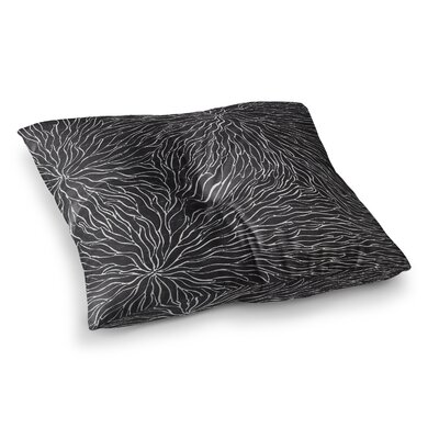 Nl Designs Garden Illusion Square Floor Pillow Size: 26 x 26