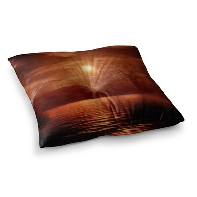 Viviana Gonzalez Woods to Conjure Square Floor Pillow Size: 23 x 23