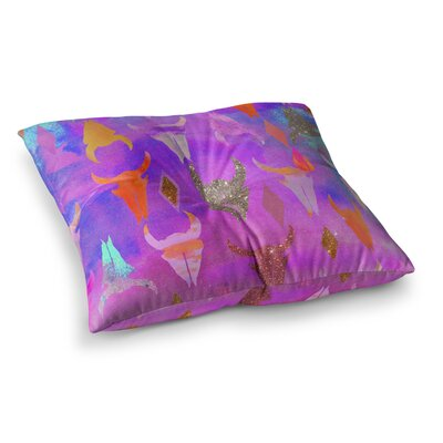 Nikki Strange Rodeo Square Floor Pillow Size: 26 x 26