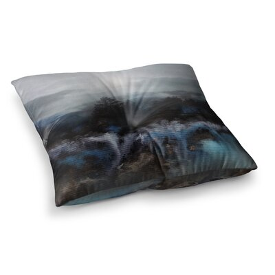 Viviana Gonzalez Calling the Sun III Square Floor Pillow Size: 26 x 26