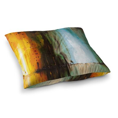 Steve Dix Kinds of Tranquil Painting Square Floor Pillow Size: 26 x 26