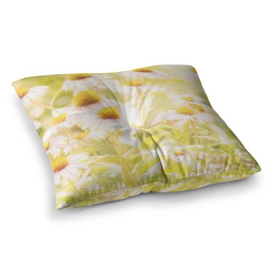 Sylvia Coomes Fields of Flowers Photography Square Floor Pillow Size: 23 x 23
