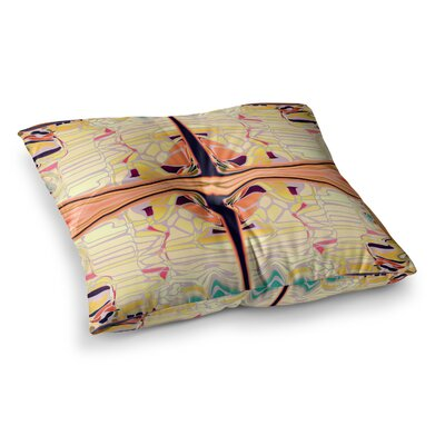 Nina May Naranda Square Floor Pillow Size: 26 x 26