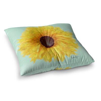 Oriana Cordero Sol Seafoam Square Floor Pillow Size: 26 x 26
