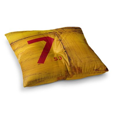 Steve Dix 7S3 Painting Square Floor Pillow Size: 23 x 23