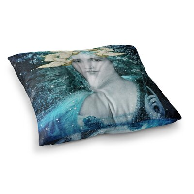 Suzanne Carter Adorned Square Floor Pillow Size: 23 x 23