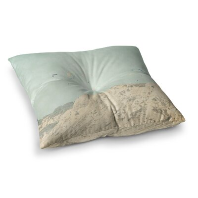 Sylvia Coomes West Coast 2 Square Floor Pillow Size: 26 x 26