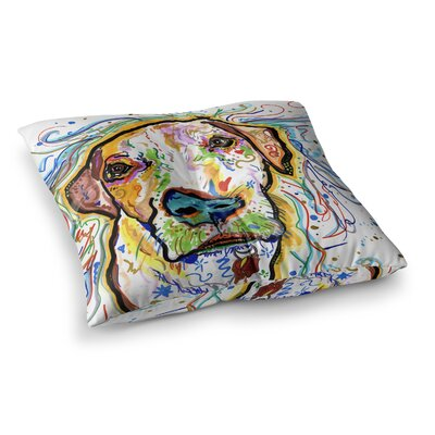 Rebecca Fischer Ernie Square Floor Pillow Size: 23 x 23