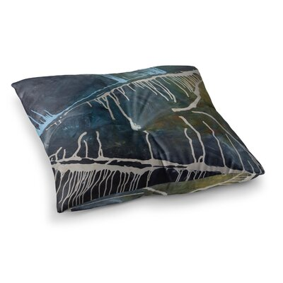 Steve Dix Busan Tonight Painting Square Floor Pillow Size: 26 x 26