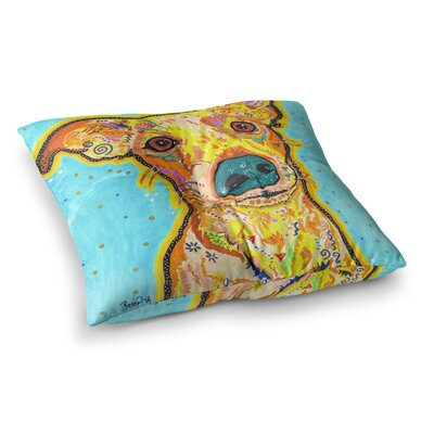 Rebecca Fischer Tanner Terrier Square Floor Pillow Size: 26 x 26