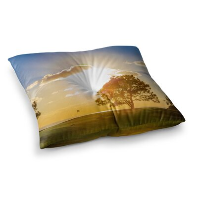 Juan Paolo Approach Shot Square Floor Pillow Size: 26 x 26