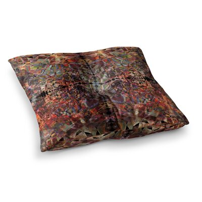 Pia Schneider Mosaic - I Vector Square Floor Pillow Size: 26 x 26