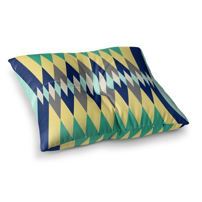 SusanaPaz Sweet Tribal Digital Square Floor Pillow Size: 23