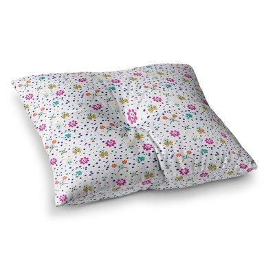 Yenty Jap Happy Skull Square Floor Pillow Size: 23 x 23