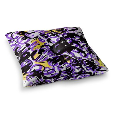 Theresa Giolzetti Theodoras Mess Square Floor Pillow Size: 23 x 23