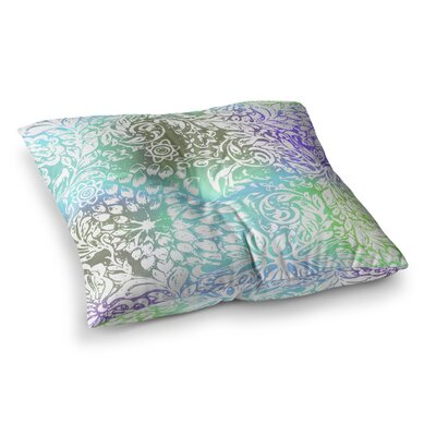 Vikki Salmela Bloom Softly for You Square Floor Pillow Size: 23 x 23
