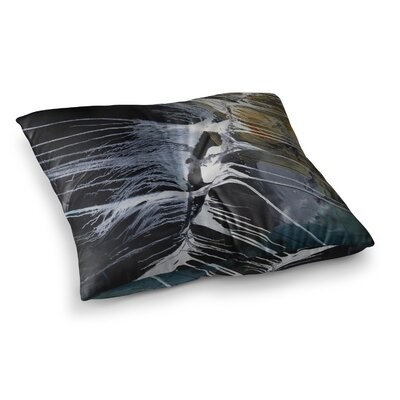 Steve Dix Bones Square Floor Pillow Size: 23 x 23
