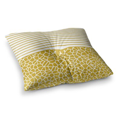 Trebam Staklo Digital Square Floor Pillow Size: 26 x 26