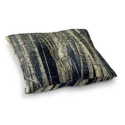 Robin Dickinson Birch Square Floor Pillow Size: 23 x 23