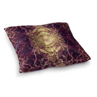 Pia Schneider Burning Roots IV Celestial Square Floor Pillow Size: 26 x 26