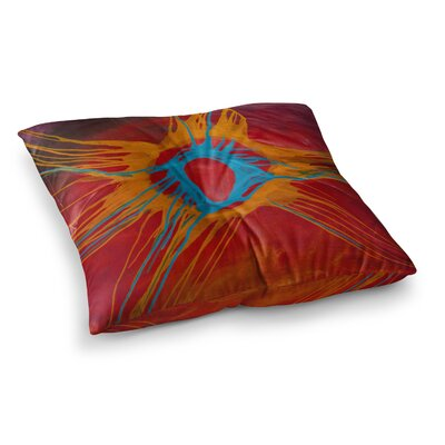 Steve Dix Eclipse Square Floor Pillow Size: 26 x 26