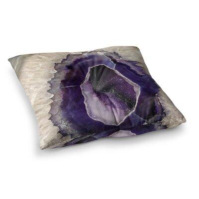 Sylvia Cook Quartz Lavender Square Floor Pillow Size: 26 x 26