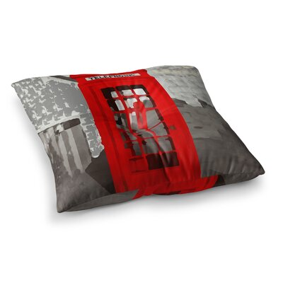 Oriana Cordero London Square Floor Pillow Size: 23 x 23