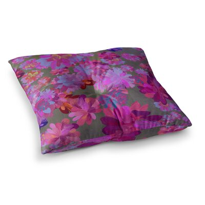 Marianna Tankelevich Flowers Square Floor Pillow Size: 23 x 23