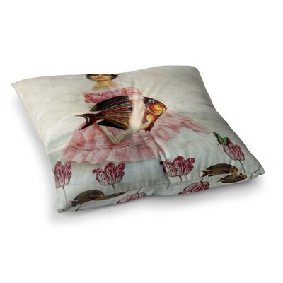 Suzanne Carter The Gardener Square Floor Pillow Size: 23 x 23