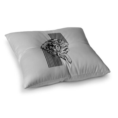 BarmalisiRTB The Chief Square Floor Pillow Size: 23 x 23