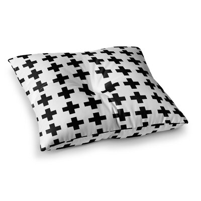 Suzanne Carter Swedish Cross Square Floor Pillow Size: 26 x 26