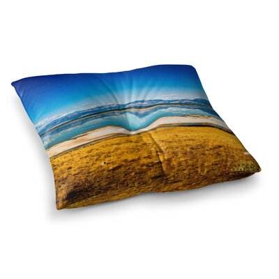 Sylvia Coomes Reflection Square Floor Pillow Size: 23 x 23